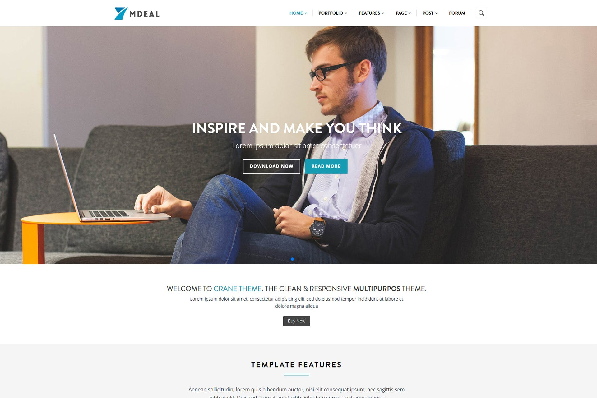 Mdeal - Responsive Business Drupal Theme